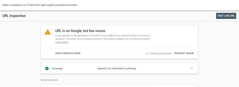 URL Is On Google, but has Issues: Solution