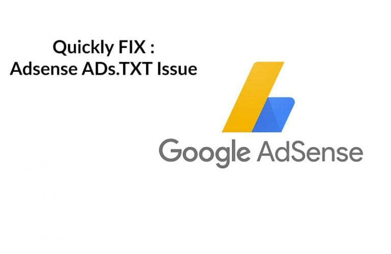 Fix: Adsense Earnings at risk – You need to fix some ads.txt file issues