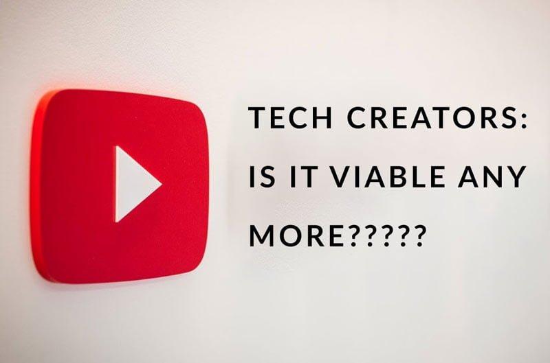 Tech YT Channels Low Views Not Profitable